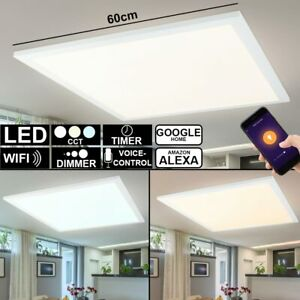 Smart LED Decken Panel Aufbau Leuchte RGB Dimmer App Alexa