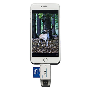 Trail-Camera-SD-Card-Reader-Hunting-Viewer-Micro-USB-Connector-iPhone-Android