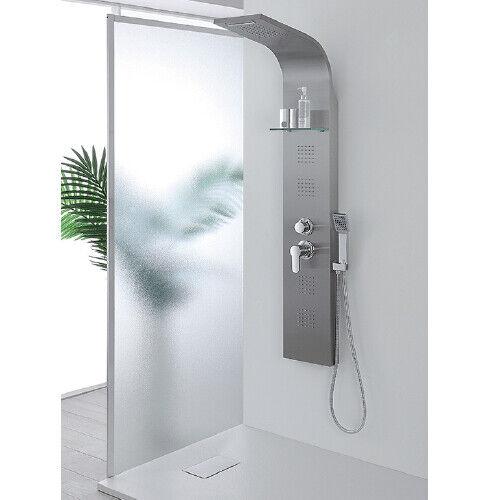 Pannello doccia idromassaggio colonna design con getti orientabili idrougeerapia