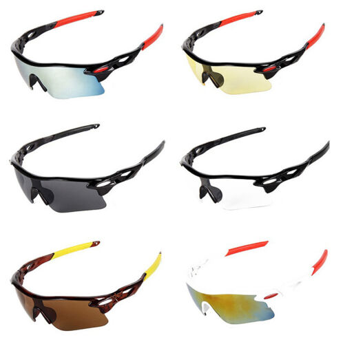 Accessories Sports Cycling Sunglasses Flexible Silicone Frame UV Protected