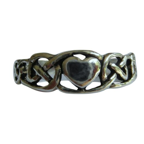 Adjustable  Heart Toe Ring  ! Brand New !! Sterling Silver 925