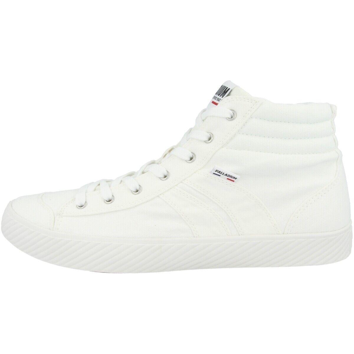 Palladium pallaphoenix Cuff Canvas Boots shoes High Top Sneaker White 76190-116