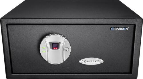 Barska Biometric Fingerprint Safe Lock Security Home Jewelry Gun, AX11224