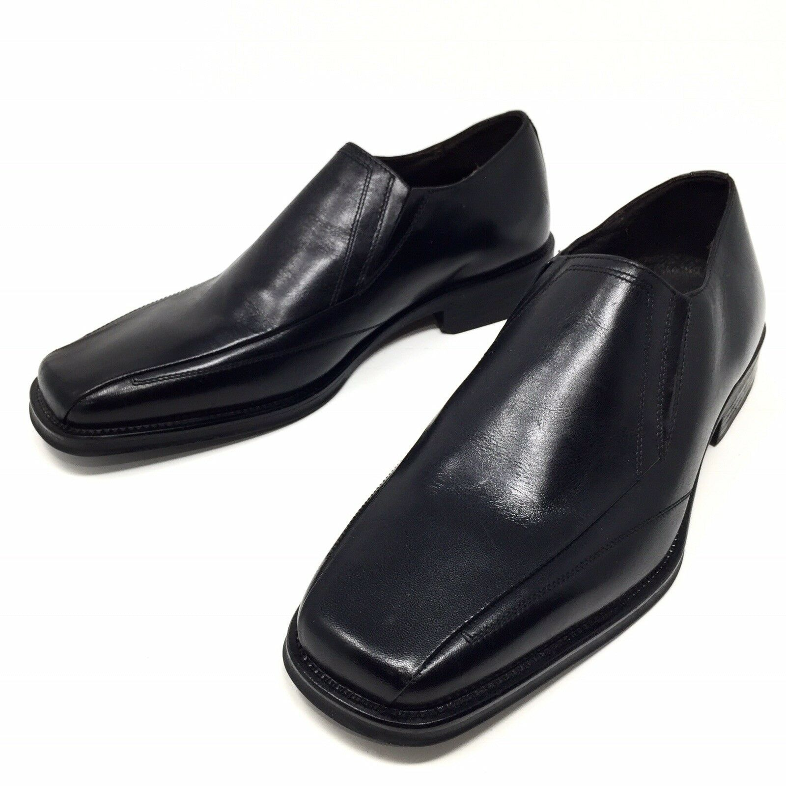 J.Murphy sz Black Leather Mens Loafer sz J.Murphy 10.5 9cdf04