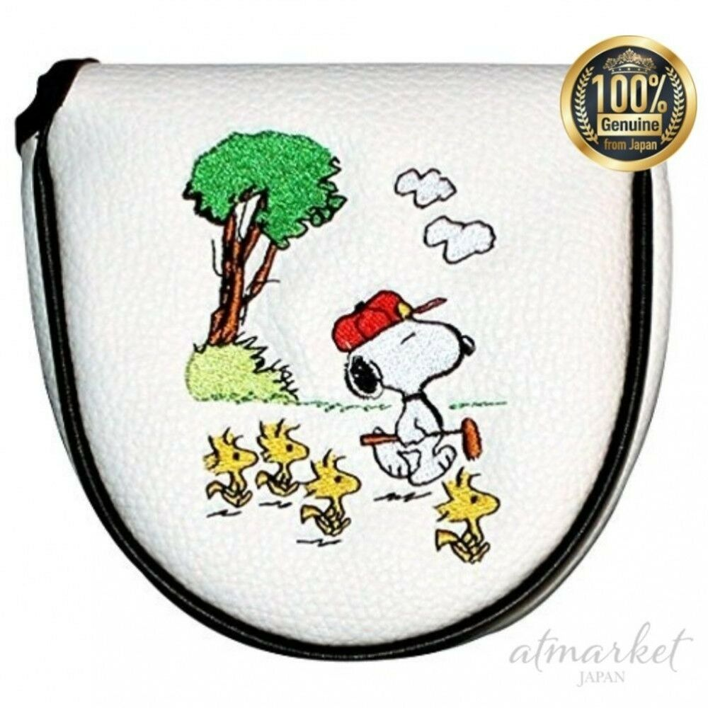Uprack Head Cover H-160 Putter Cover Snoopy Gallery (D Type) H-160 From JAPAN