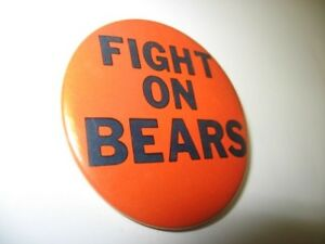 Vintage-Fight-On-Bears-Chicago-Bears-Football-2-25-034-Pin-Back-Button-Illinois