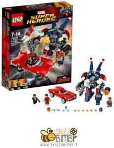 Lego Super Heroes Iron Man Construction Set L'attaque en acier de Detroit