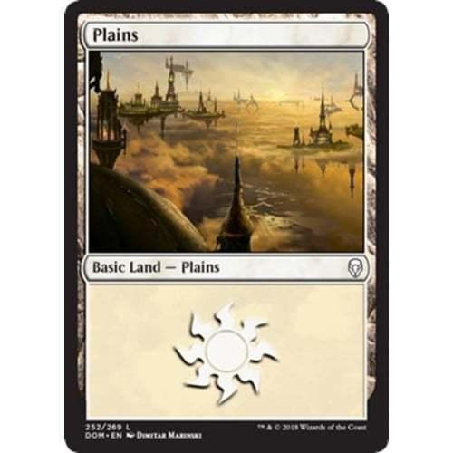 MTG Dominaria * Plains (#252)