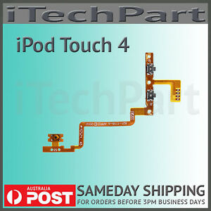 Power-On-Off-Volume-Control-Flex-Cable-Replacement-Part-For-iPod-Touch-4