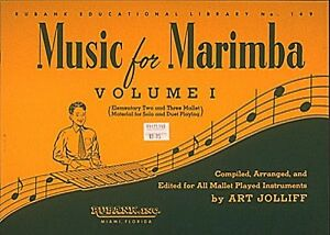 Details about Music for Marimba Volume I Elementary 2- and 3-Mallet Solos  and Duets 004471140