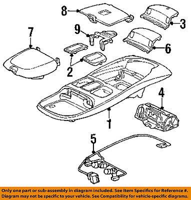 Dodge CHRYSLER OEM 99-02 Ram 3500 Overhead Console-Wire Harness 5013609AA