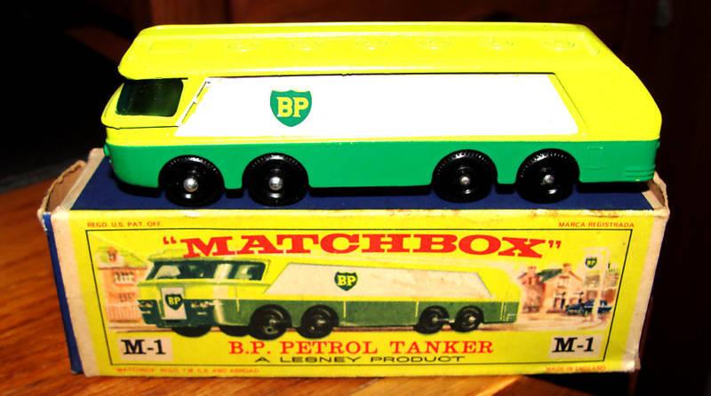 Matchbox M1 B P Gasolina Autotanker Reg ruedas Lesney