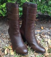 Born Crown Pratt Dark Brown Womens Boot Size 11