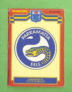 1986-SCANLENS-PARRAMATTA-EELS-RUGBY-LEAGUE-CARD-91-EMBLEM