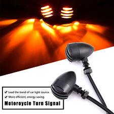 2X 12V Motorcycle Turn Signal Blinker Indicator Lights For Harley chopper custom
