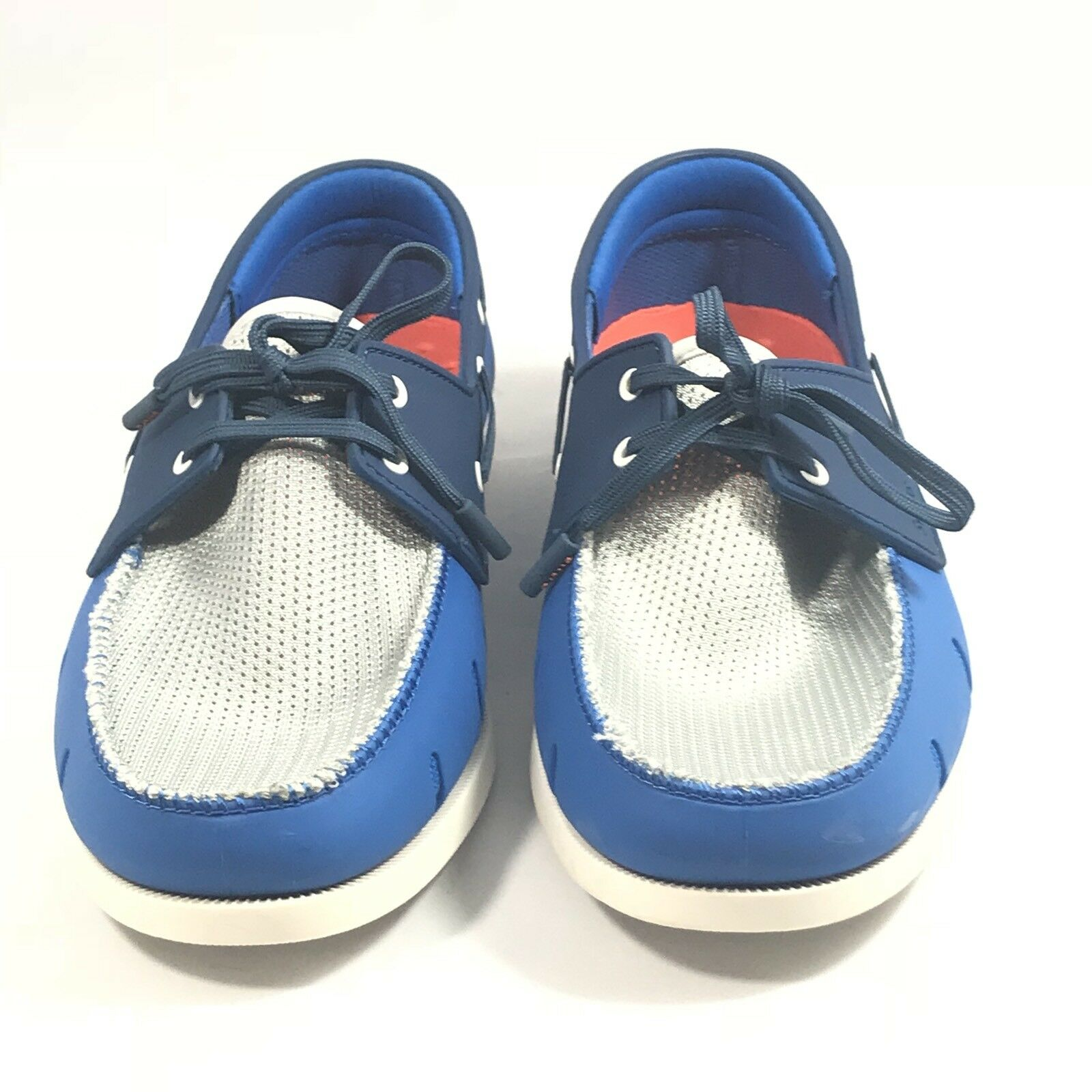 NEW  SWIMS Breeze Leap Classic Men Loafers Boat shoes bluee Grey US 9