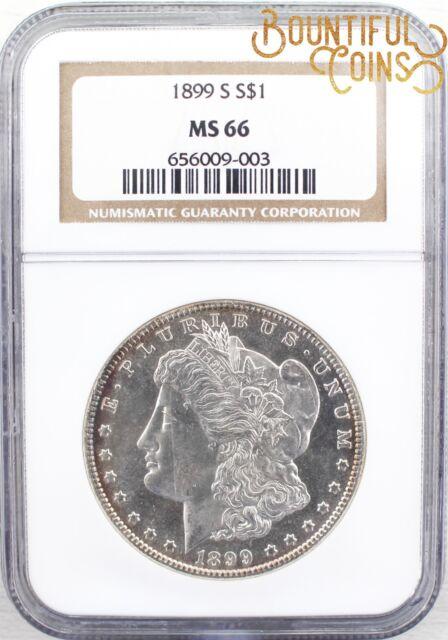1899-S Morgan Silver Dollar Fine San Francisco Mint 1-2919