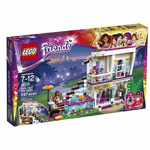 LEGO Friends Livis Pop Star House 41135