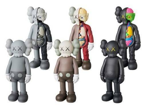 KAWS COMPANION OPEN EDITION MEDICOM TOY PLUS 1 OR ALL 6 100 % Authentic
