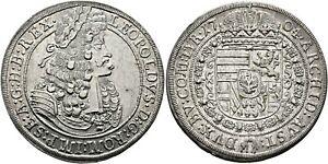 Austria-1704-Silver-Taler-Thaler-Leopold