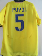 Barcelona Puyol 5 2008-2009 Away Football Shirt Size Extra Large /40129