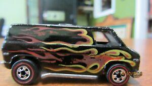 Hot Wheels  Redline  Custom Flame Van / I am Original Owner