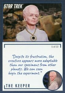 Star-Trek-TOS-Archives-amp-Inscriptions-card-11-the-Keeper-Variation-5-out-of-22