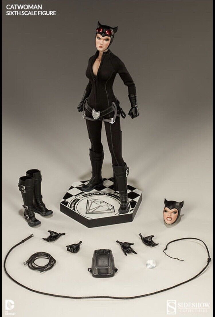 Catwoman Sideshow Exclusive Egyptian Cat Idol 1 6 Sealed braun Shipper