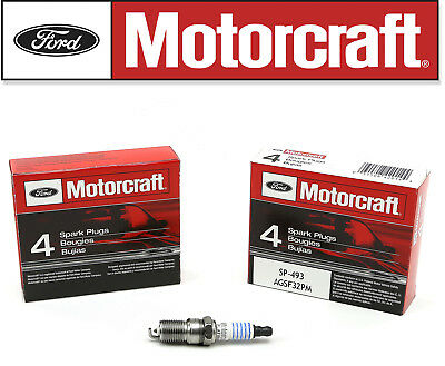 8pc OEM Genuine FORD Spark Plugs Motorcraft SP493 AGSF32PM 4.6L 5.4L V8 sp-493