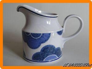 Efficace Pot A Lait Taille N°2 Vitro Porcelaine Villeroy & Boch Modele Blue Cloud 11,5 Cm