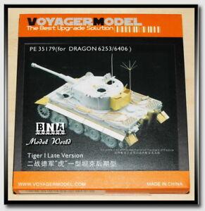 Voyager-PE35179-1-35-WWII-German-Tiger-I-Late-Detail-Set-for-Dragon-6253-6406
