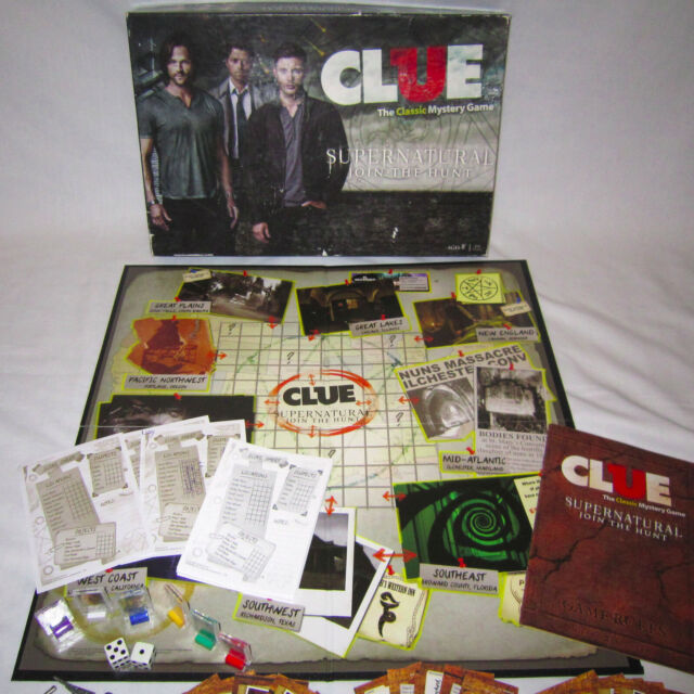 Join the Hunt Game USAopoly Supernatural