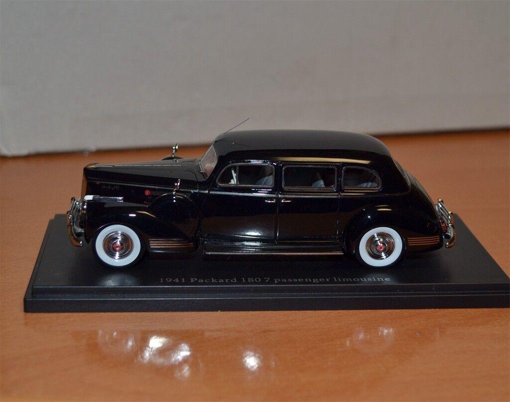 1 43 1941 180 7 pasajero limusina Packard negro Hecho a Mano-Edición Limitada