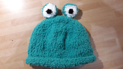super soft babies frog hat