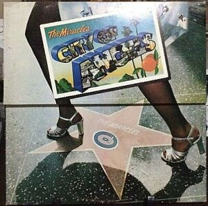 THE-MIRACLES-City-of-Angels-Album-Released-1975-Vinyl-Record-Collection-US-press
