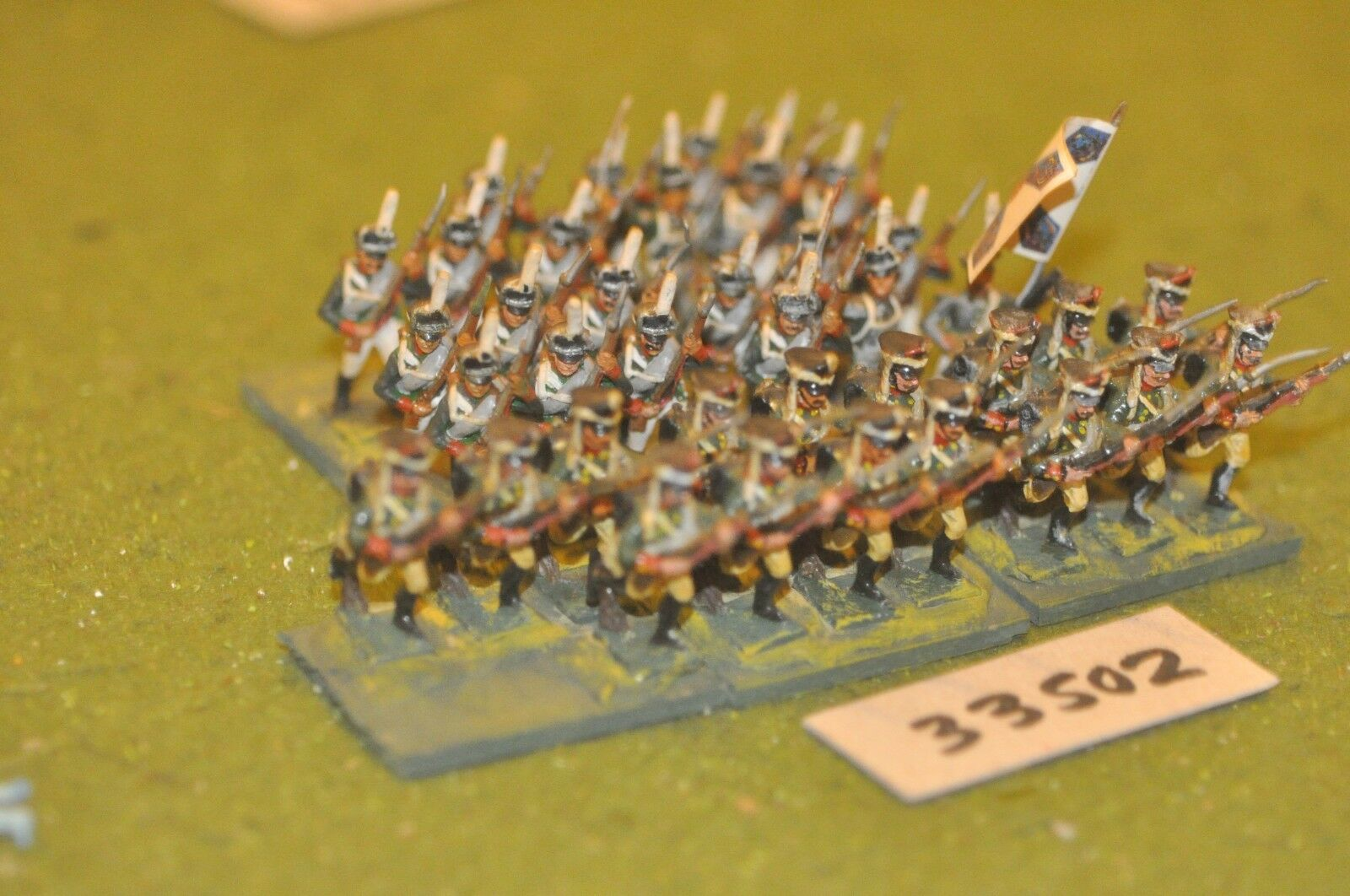 25mm napoleonic   russian - line 36 figures - inf (33502)
