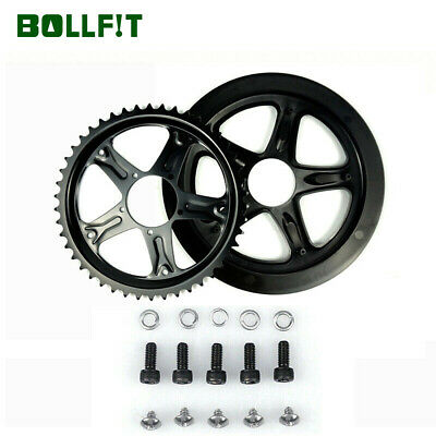 BAFANG BBS01B BBS02B Chain Wheel and Replacement Chain Guard Black 44T 46T 48T 5