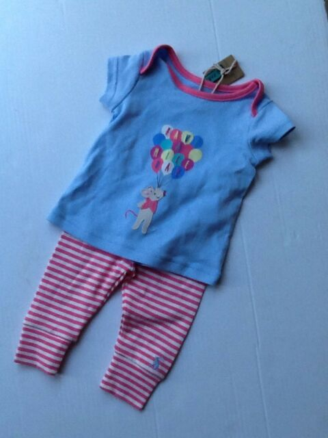 Bottoms Joules Baby Leggings 0-3 Months Striped