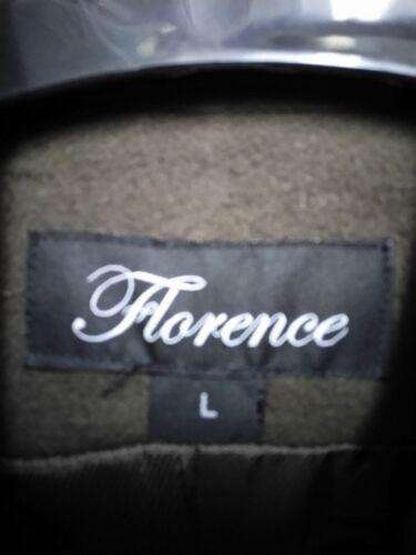laine brun New grand pour mélange en Manteau de dames Florence xYtSqw8wC