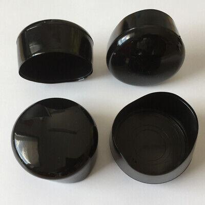 Rohrkappe 42 mm für runde Rohre Weiß Stangen Zaun-Pfosten Rundmaterial