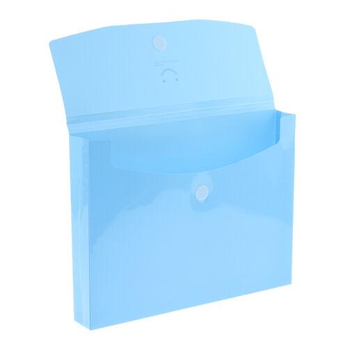 Große Kapazität Kunststoff Business Portable A4 Datei Tasche Datei Ordner