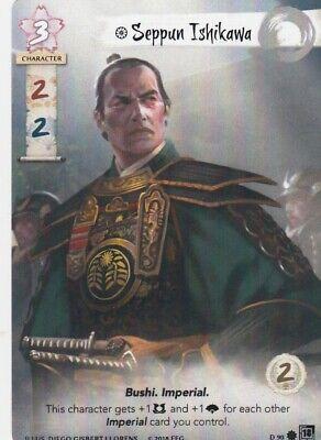 Seppun Ishikawa Alt Art Legend Of The Five Rings L5R
