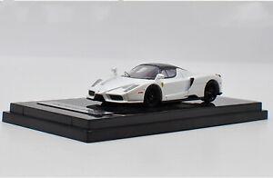 Ace 1 64 Ferrari Enzo Supercar White Diecast Car Model Collection Gift Ebay