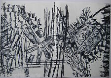 RIOPELLE JEAN PAUL 3 LITHOGRAPHIES ORIGINALES DLM232 1979 3 LITHOGRAPHS QUÉBEC