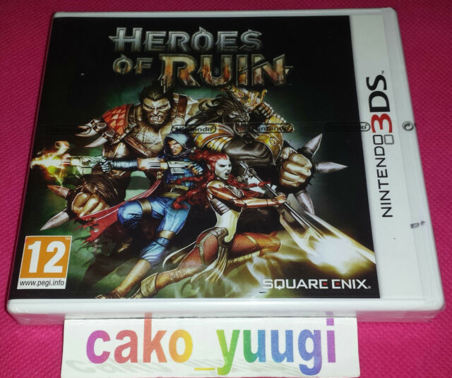 HEROES OF RUIN NINTENDO 3DS NEUF VERSION 100% FRANCAISE