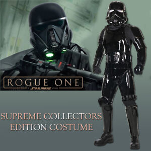 cf0700a9c8b Star Wars Black Shadow Trooper Supreme Edition Mens Costume Licensed ...