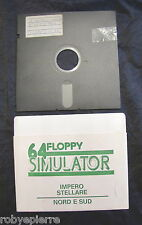 Floppy disc 5.25 inch 5 1/4 Commodore 64 A- football manager B- grand prix n 74