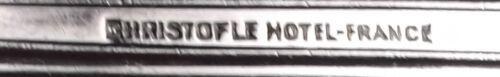 """CHRISTOFLE SILVERPLATE ALBI hotel  5 O/'CLOCK TEASPOON  5 1//2/""""  teaspoons"""