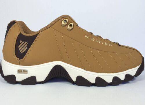 K-Swiss Men/'s ST329 CMF Training Shoe Bone Brown//Chocolate//Whisper White
