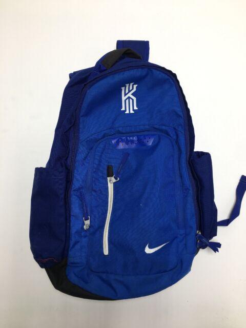 Subir Arreglo Isla de Alcatraz  Authentic Nike Kyrie Basketball Backpack Black Blue Ba5133 013 for sale  online | eBay